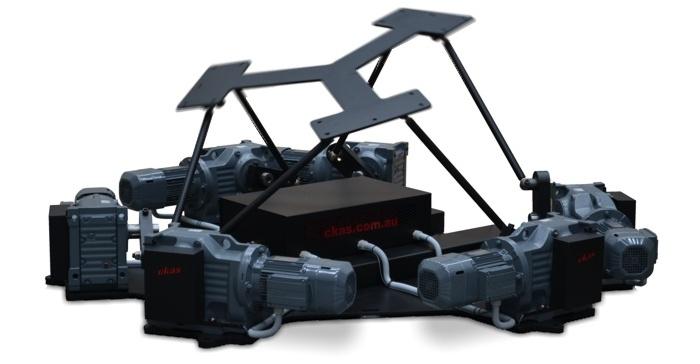 CKAS Electric 6DOF Motion Platforms / Systems